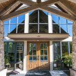 McKenzie Periodontics & Implant Dentistry front doors - Columbia, SC.